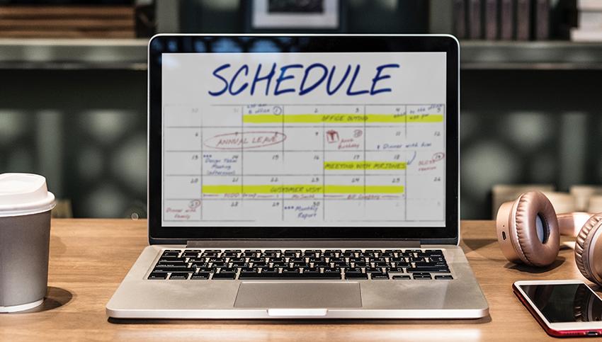 Un calendrier éditorial est nécessaire pour publier sur les réseaux sociaux