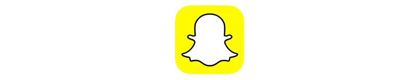Logo Snapchat réseaux sociaux